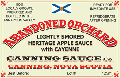 Abandoned Orchard - Lightly Smoked Heritage Apple Sauce with Cayenne