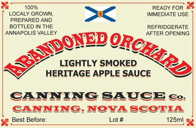 Abandoned Orchard - Lightly Smoked Heritage Apple Sauce