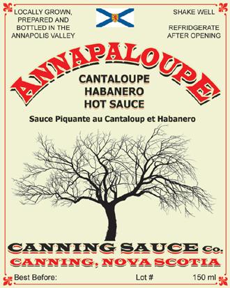 Annapaloupe - Cantaloupe Habanero Hot sauce