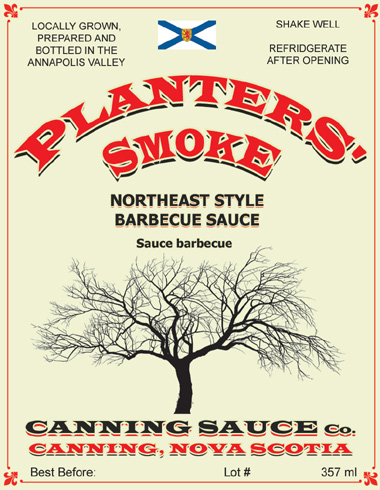 Planters Smoke - Northeast Style Barbeque Sauce